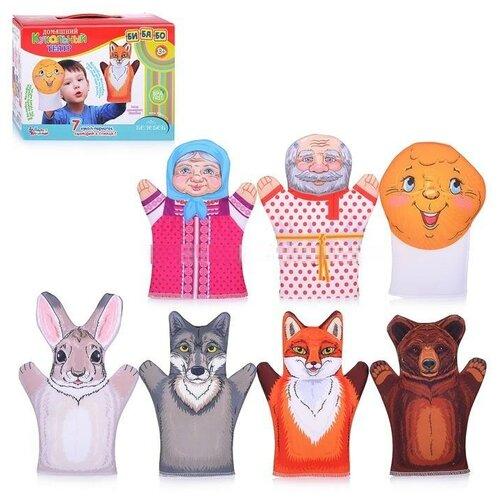 Фото - Десятое королевство Кукольный театр Колобок (03663) десятое королевство td03663 домашний кукольный театр колобок 7 кукол перчаток