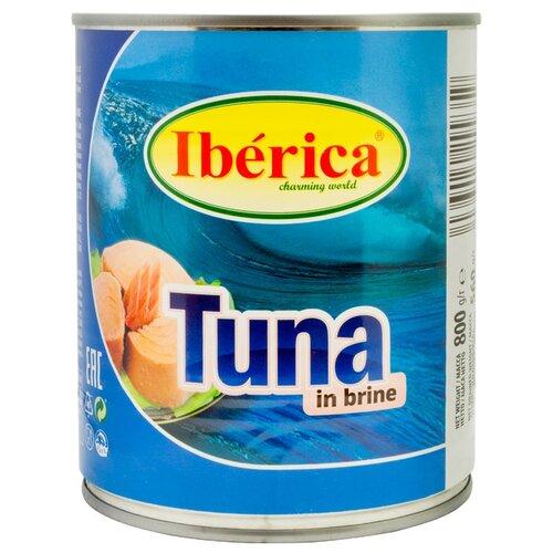 Iberica Тунец в собственном соку, 800 г