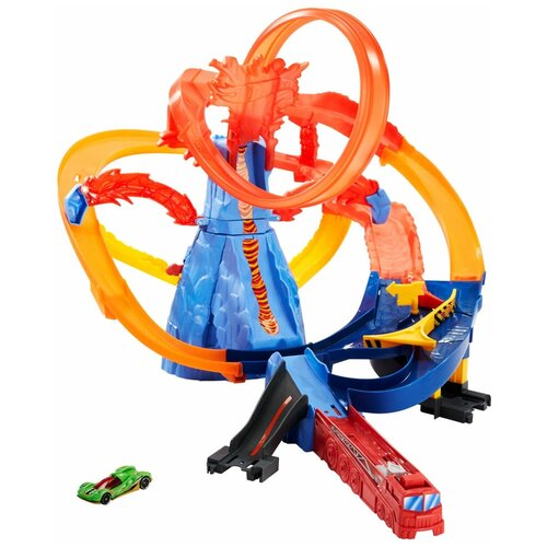Трек Hot Wheels Volcano Escape FTD61