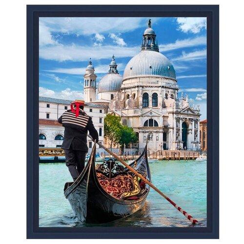 Фото - Алмазная живопись Набор алмазной вышивки Венецианский гондольер (АЖ-1719) 30х40 см алмазная живопись набор алмазной вышивки дружные синички аж 1475 24х30 см