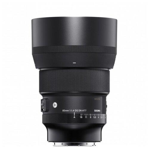 Фото - Объектив Sigma AF 85mm F/1.4 DG DN Art L-mount черный объектив sigma af 85mm f 1 4 dg dn art sony e