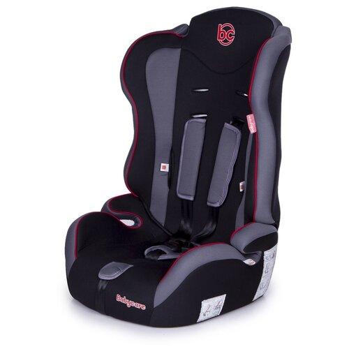 Автокресло группа 1/2/3 (9-36 кг) Babycare Upiter, черный/красный автокресло группа 1 2 3 9 36 кг little car ally с перфорацией черный