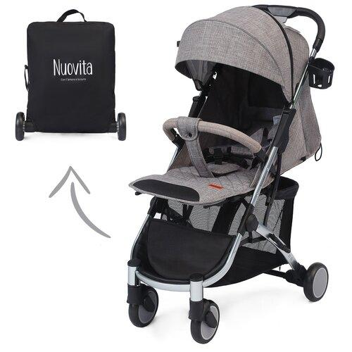 Купить Прогулочная коляска Nuovita Snello, grigio scuro lino, Коляски