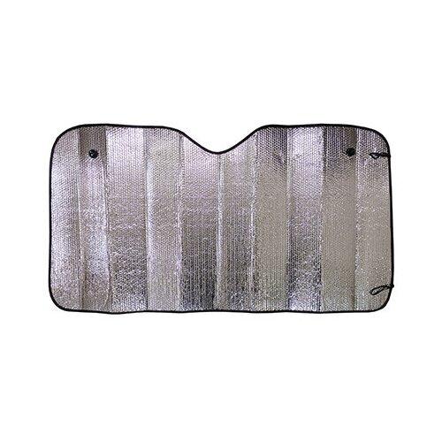 Шторка автомобильная экран 150*80см на лобовое стекло SKYWAY фольга двусторонняя