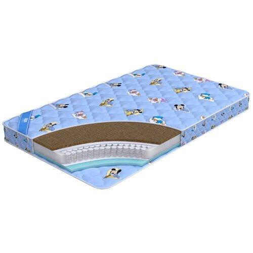 Фото - Матрас детский Промтекс-Ориент Teen Стандарт Комби, 60x120 см, пружинный матрас детский промтекс ориент teen стандарт 70x160 пружинный голубой