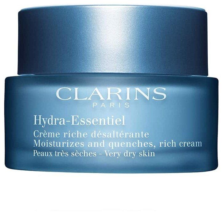 Clarins Hydra-Essentiel Интенсивно увлажняющий крем для сухой кожи лица — купить по выгодной цене на Яндекс.Маркете