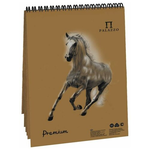 Фото - Скетчбук для пастели Лилия Холдинг Premium Cinnamon 21 х 14.8 см (A5), 160 г/м², 30 л. блокнот для пастели лилия холдинг blackberry 21 х 14 8 см a5 160 г м² 30 л