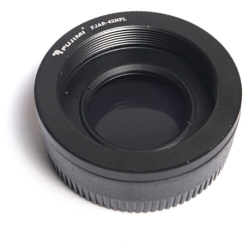 Фото - Fujimi FJAR-42NFL Переходник с M42 на Nikon с линзой кольцо fujimi adapter canon eos m42 fjar 42eos 478