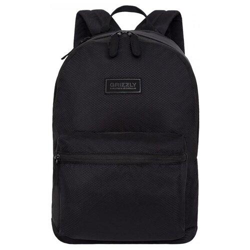 Рюкзак Grizzly RX-023-8/1 15 (черный) рюкзак grizzly rx 022 8 1 перья