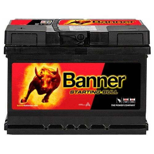 Автомобильный аккумулятор Banner Starting Bull 560 08