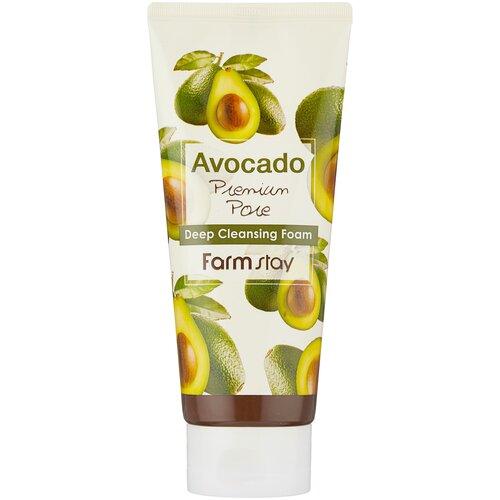 Купить Farmstay пенка очищающая с экстрактом авокадо, 180 мл