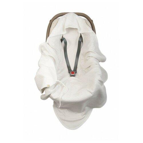Сонный Гномик Накидка на сиденье для автокресла 87х87см белый