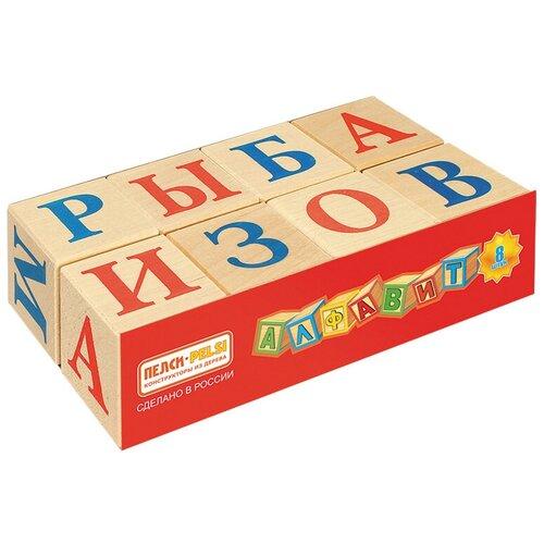Кубики Теремок (Пелси) Алфавит И667