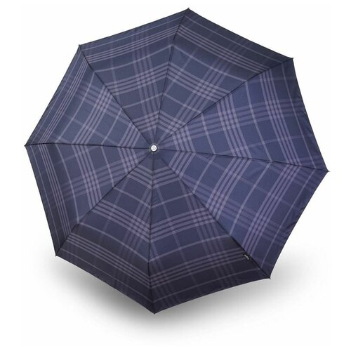 Зонт автомат Bugatti Gran Turismo CHECK NAVY