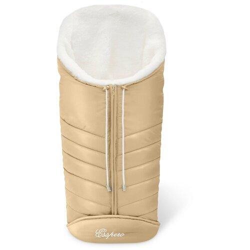 Фото - Конверт-мешок Esspero Cosy White 90 см beige конверт мешок esspero cosy lux 90 см black