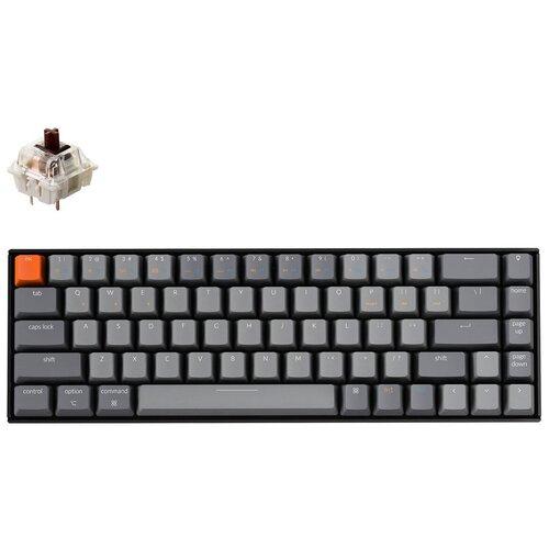 Механическая клавиатура Keychron K6 White Led (Gateron Brown)