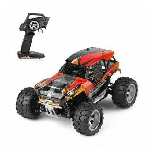 Фото - Радиоуправляемый монстр WL Toys 4WD RTR масштаб 1:18 2.4G радиоуправляемый контейнеровоз zhoule toys радиоуправляемый контейнеровоз citytruck 1 18 551 b1