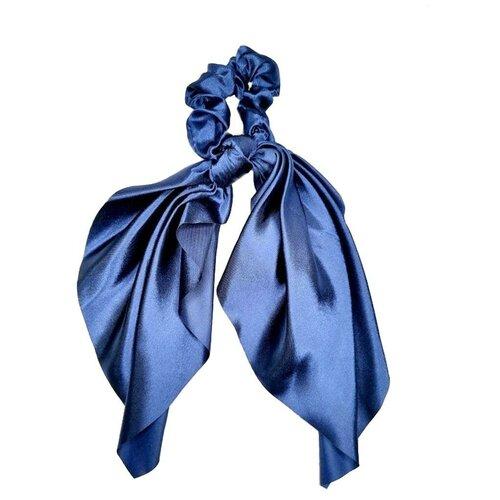 Купить Резинка-лента Tina для волос женская, синяя , Lafreice