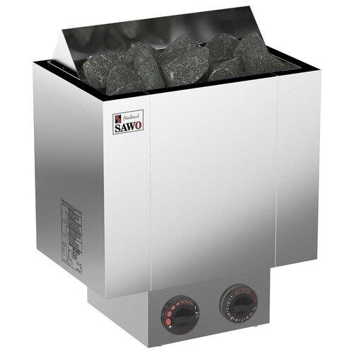 Электрическая банная печь Sawo Nordex NRX-80NB-Z серебристый по цене 21 990
