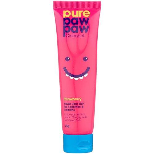 Фото - Pure Paw Paw Восстанавливающий бальзам Клубничный смузи, 25 г dorota masłowska paw królowej