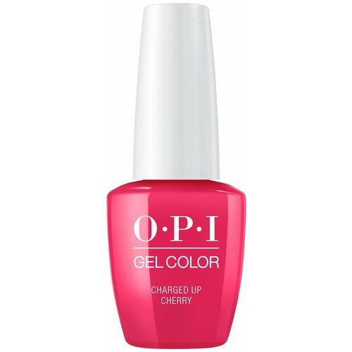 Гель-лак для ногтей OPI GelColor Iconic, 15 мл, Charged Up Cherry недорого
