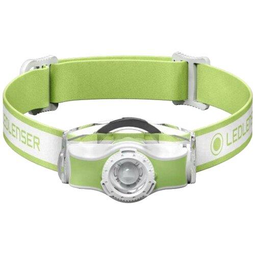 Фото - Налобный фонарь LED LENSER MH3 зеленый/белый налобный фонарь mh3 черный с серым