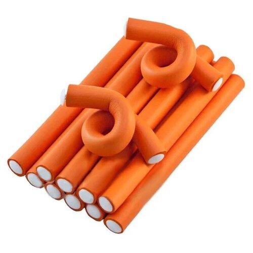 Фото - Бигуди-бумеранги Sibel Superflex Long 4222029 (17 мм) 12 шт. оранжевый мягкие бигуди sibel foam 4251933 34 мм 5 шт желтый