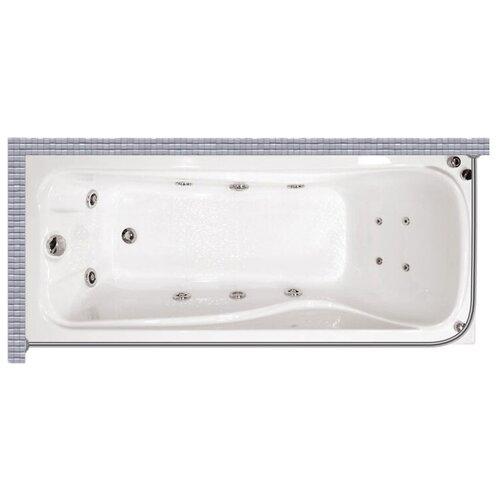 """Карниз для ванной (Штанга) """"усиленный 20"""" Triton катрин 170x70 Г-образный, угловой"""
