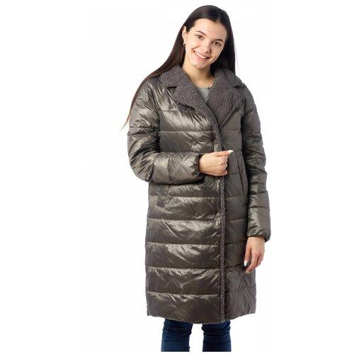 Куртка женская EVACANA 21402 (Серый 38/46)