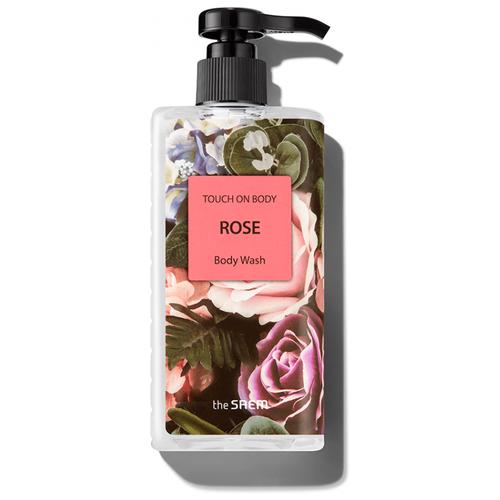 гель для душа сладкий лайм the saem touch on body sweet lime body wash 300мл Гель для душа The Saem Touch on body Rose, 300 мл