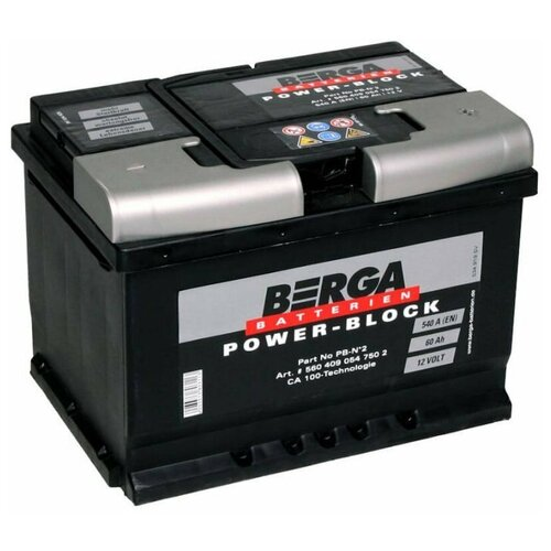 Автомобильный аккумулятор Berga PB-N2