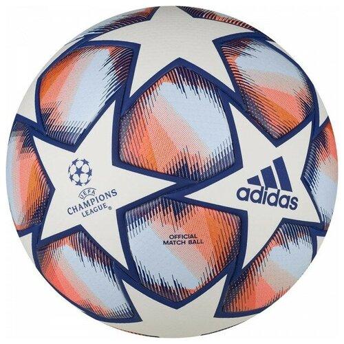 мяч футбольный adidas conext19 tcpt dn8636 белый желтый оранжевый размер 5 Мяч футбольный Adidas Finale 20 PRO арт.FS0258 р.5