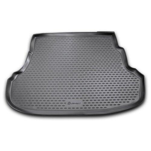Коврик багажника ELEMENT NLC.20.41.B10 для Hyundai Solaris черный коврик element nlc 48 02 b10 для toyota camry черный
