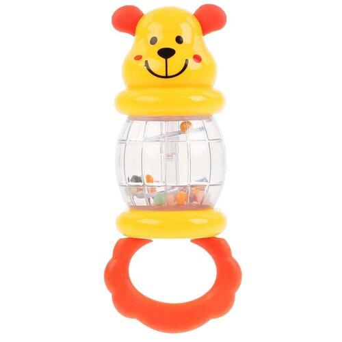 Фото - Погремушка Умка Мишутка B1519026-R желтый/красный игрушка для ванной умка бегемотик b1410463 r красный желтый зеленый