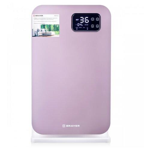 Фото - Очиститель воздуха BRAYER BR4902, розовый очиститель воздуха brayer br4930