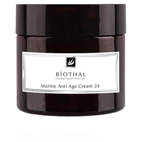 Фото - Крем BIOTHAL Marine Anti-Age cream морской эффект 24 антивозрастной для лица, 50 мл сыворотка эликсир biothal anti age elixir 30 мл