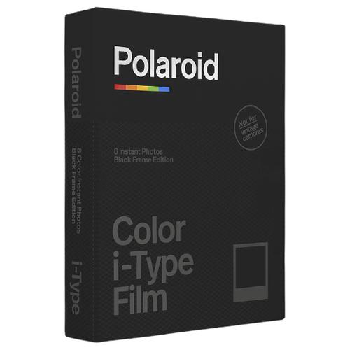 Фото - Картридж для моментальной фотографии Polaroid Color Film Black Frame, 8 шт. картридж polaroid duochrome film 600 black