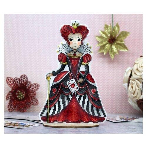 Жар-птица Набор для вышивания Красная королева 12 х 19 см (Р-401)