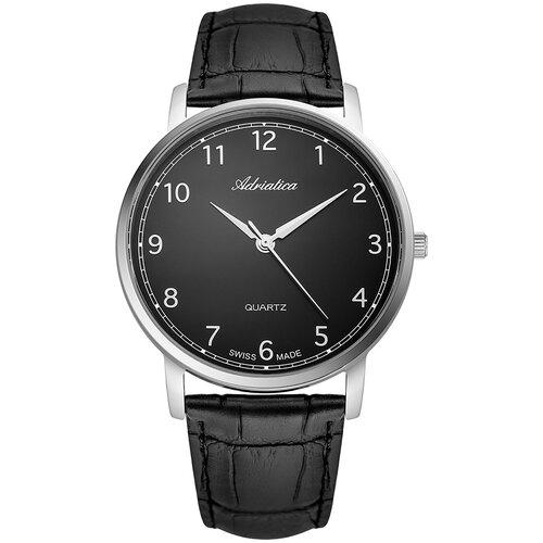 Фото - Часы наручные швейцарские мужские Adriatica A1287.5224Q мужские часы adriatica a1246 5217q