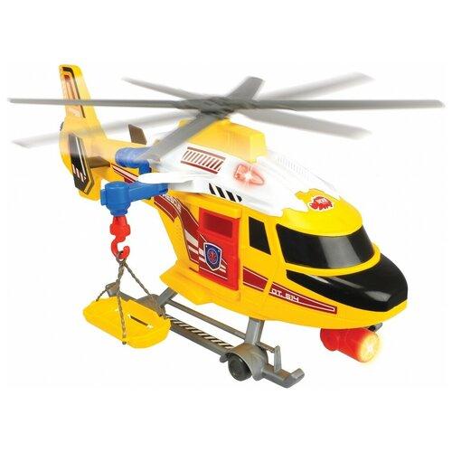Фото - Вертолет Dickie Toys Air Patrol спасательный (3308373), 41 см, желтый/красный гидроцикл dickie toys пожарный сэм джуно с фигуркой и аксессуарами 9251662 красный желтый