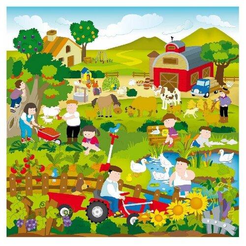 Купить Коврик ЯиГрушка Сельская жизнь (59836), Игровые коврики