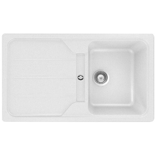 Врезная кухонная мойка 86 см TEKA Simpla 45B-TG белый