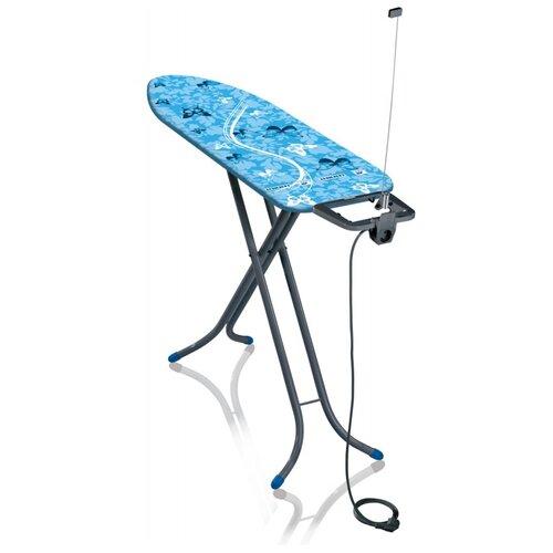 Фото - Leifheit гладильная доска AirBoard Compact M Plus синий/серый гладильная доска leifheit airboard compact s 110x30cm 72584