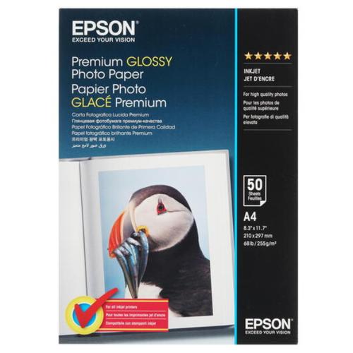 Фото - Бумага Epson A4 Premium Glossy Photo Paper (C13S041624) 255г/м2 50 лист., белый бумага epson a4 premium glossy photo paper c13s041624 255г м2 50 лист белый