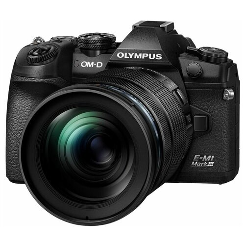 Фото - Фотоаппарат Olympus OM-D E-M1 Mark III Kit черный ED 12-100mm f/4 IS PRO подводный бокс olympus pt ep11 для om d e m1 v6300600e000