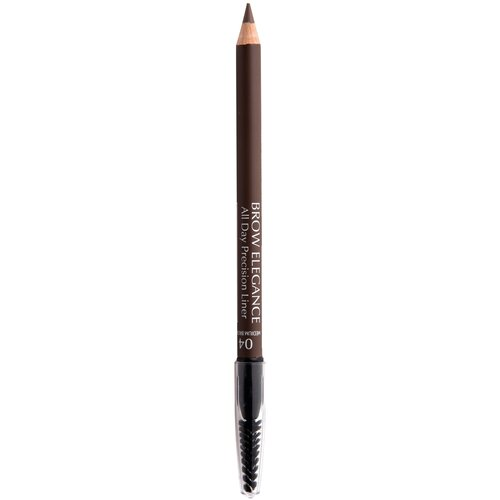 Seventeen карандаш Brow Elegance All Day Precision Liner, оттенок 04, Medium Brown карандаш для бровей brow elegance all day precision liner 1 8г no 02