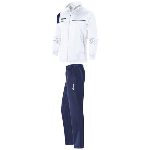 Костюм спортивный мужской MIKASA MT544 0023 цвет белый размер S