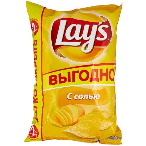 Фото - Чипсы Lay's картофельные С солью, 225 г лоренц чипсы картофельные naturals классические с солью lorenz