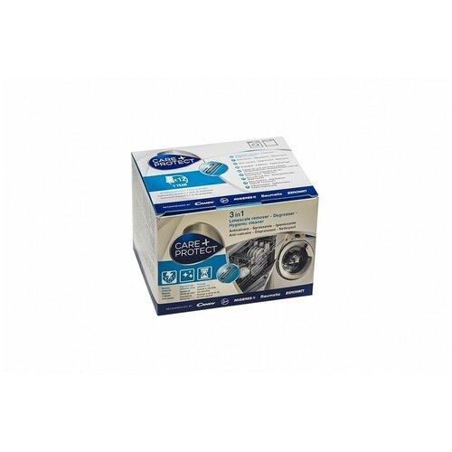 Профессиональное средство для удаления накипи и жира (антинакипин) Care+Protect для стиральных и посудомоечных машин недорого