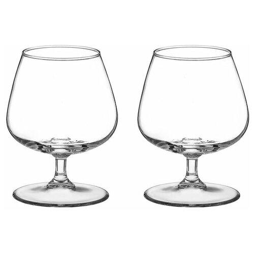 Pasabahce Набор бокалов для коньяка Charante 430 мл 2 шт прозрачный